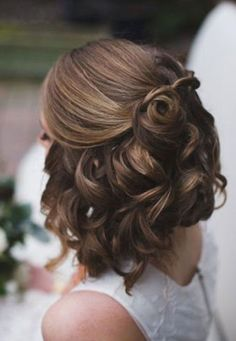Good Curly Updo for Short Hair