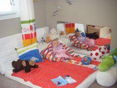 Adara's Montessori floor bed