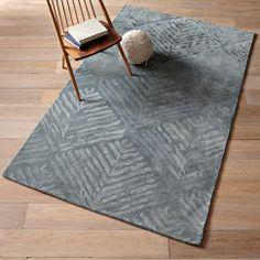 Nordic Diamond Rug | west elm  Living Room
