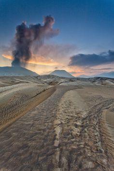 Bromo Dunes, Indonesia.