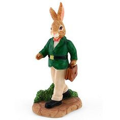 Royal Doulton Bunnykins, Resin Father Home From WorkDBR8