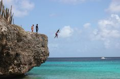 AFAR.com Highlight: Go Cliff Jumping at Bonaire's Boca Slagbaai by Ashley Castle