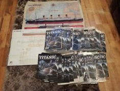 Build the Titanic By Hachette complete set of 1 - 100 issuesHello I started collecting this series around ten years ago now with the full intentions of completing the ship. I have always been fascinat Titanic Model, The 100, Ship, Building, Buildings, Ships, Construction