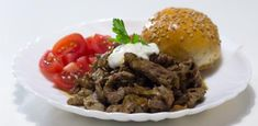 Pulled Pork, A Table, Food And Drink, Beef, Treats, Snacks, Dinner, Ethnic Recipes, Shredded Pork