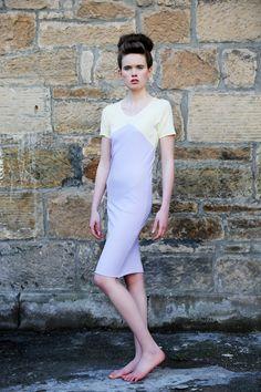 Grey and Yellow Midi £45  Model: Nikki Vance from Superior Photographer: Daniela Flores MUA: Heather Snowie Hair: Heather Nelson