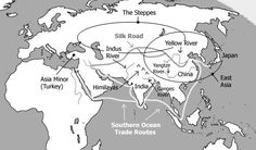 Map and quick info for ancient India and China Unit 1-3