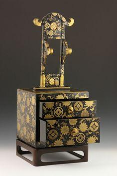 19th C. Bride's Vanity Case - by Kaminski Auctions