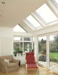 Velux with side return