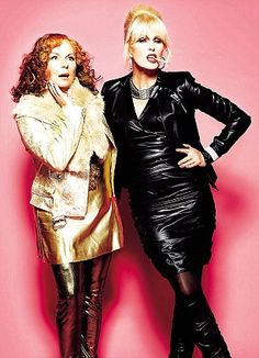 Absolutely Fabulous - Edina and Patsy, yeah babe! Jennifer Saunders, Absolutely Fabulous Quotes, Edina Monsoon, Patsy And Edina, Patsy Stone, Exercise For Six Pack, Bbc, Joanna Lumley, Ab Fab