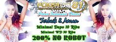 pokerqq81 adalah tempat untuk Daftar Akun Poker Tercepat di indonesia di sebia situs bandar agen judi online terpercaya dan resmi uang asli depo 10rb terbaik