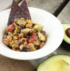 Southwest Avocado Bean Salad | Simple Dish | Quick, Easy, & Healthy Recipes for Dinner