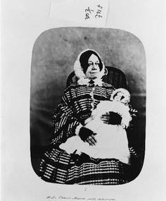 Hannah Still, with doll. Admitted 1858, or Hannah Simmons admitted 1854 or 1857, diagnosed with Chronic Mania with delusions.  Bethlem Royal Hospital.