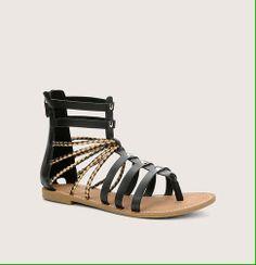 Tall Gladiator Sandals   Loft   $60