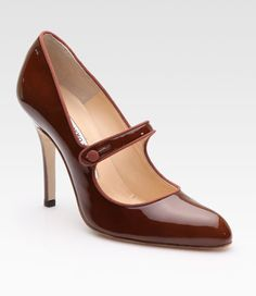 Campy Patent Leather Mary Jane Pumps - Lyst