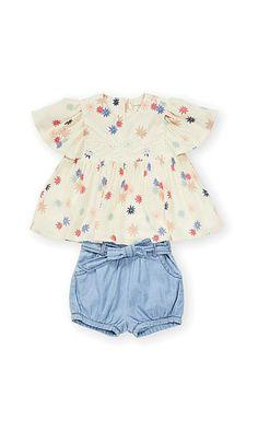 e0d2a9460ec9b toddler boho shirt and chambrey shorts  affiliate  summer Mode Bébé (fille)