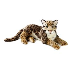 Lelly National Geographic Plush - Clouded Leopard
