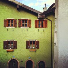 Hallein, Salzburg, Austria, Altstadt, windows, flower, studioastic.com