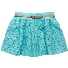 High Tea Lace Skirt Nile Blue ($14) ❤ liked on Polyvore featuring skirts, bottoms, faldas, pants, lacy skirt, lace skirt, tea skirt, blue lace skirt and blue knee length skirt