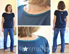 Designbeispiel Damen-Shirt Rom (Gr. 34-46) | Ebook