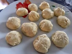 Pączki serowe w 5 minut! - Blog z apetytem Hamburger, Bread, Blog, Brot, Blogging, Baking, Burgers, Breads, Buns