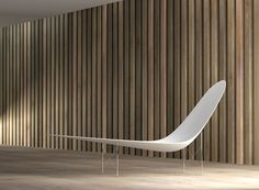 Cheque Chaise / Fibreglass and steel