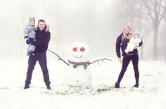 The 20 Cutest Holiday Family Photos Ever via Brit + Co