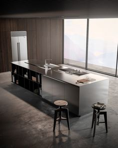 Which style do you prefer? (Swipe left) _ Effeti Kitchen. By Studio Podrini #artsytecture ______ Welcome to the page @artsytecture !…