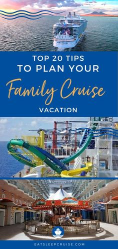If you're dreaming of a family vacation to get away from the worries of the world, a cruise vacation may be just what you need. But there is more to a family cruise vacation than matching shirts. With destinations all over the world, there is something for everyone. Here we share the 20 best tips to plan the best family vacation ever. Check out this post and you'll be ready to put ideas into reality as soon as cruising resumes. #CruiseVacation #FamilyCruise #CruiseTips #FamilyVacation… Best Family Vacations, Family Cruise, Cruise Vacation, Alaska Cruise, Cruise Tips, Royal Caribbean, How To Plan, Top Family Vacations