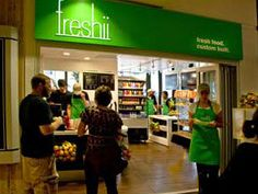 Freshii... Eat, Energize Just opened in Yorktown Mall, Lombard IL Good, healthy food. Love it!!!