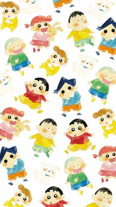 Cute Disney Wallpaper, Cute Anime Wallpaper, Wallpaper Iphone Cute, Cute Wallpapers, Sinchan Cartoon, Friend Cartoon, Crayon Shin Chan, Sinchan Wallpaper, Wallpaper Backgrounds
