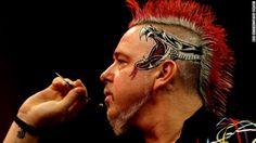 Peter Wright, who finished as runner-up in the PDC World Championship, is one of the sport's more colorful characters. The glitzy shirts and...
