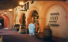 Laffite's Portrait Deck, Magic Kingdom