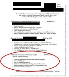 resume out lines