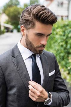 10 Fresh New Hairstyles For Men Mens Hairstyles Beards Hair