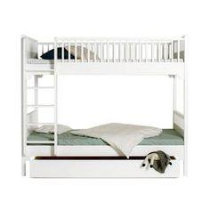 Våningssäng Seaside lodrät stege, Oliver Furniture