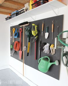 15 Ways to organize Every Messy Nook with Pegboard