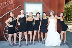 """Bridesmaids"" Wedding Pose- The Road Photography 