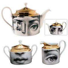 fornasetti tea set
