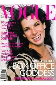 Fashion Magazine Covers - Online Archive for Women (Vogue.com UK) OCTOBER 1996 SANDRA BULLOCK