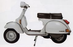 Vespa is an Italian brand of scooter manufactured by Piaggio. The name means wasp in Italian.  The Vespa has evolved from a single model motor scooter manufactured in 1946 by Piaggio & Co. S.p.A. of Pontedera, Italy—to a full line of scooters and one of seven companies today owned by Piaggio—now Europe's largest manufacturer of two-wheeled vehicles and the world's fourth largest motorcycle manufacturer by unit sales.  .