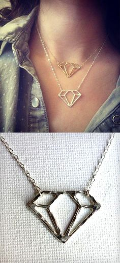 Diamond Shaped Necklace