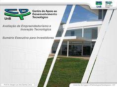 Sumário Executivo para Investidores by Sergio Luis dos  Santos Lima via slideshare