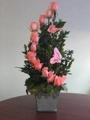 flower topiary arrangement - Google Search