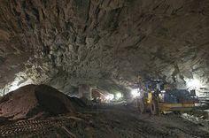 MTA Photos Show LIRR Work in Massive Caverns Under Grand Central : Gothamist