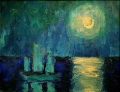 Emil Nolde, the master of vibrant colours via world paintings