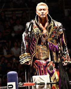 Kazuchika Okada, Japan Pro Wrestling, Kimono Top, Anime Characters, Badass, Champion, Cosplay, Random, Modern