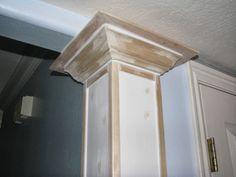 My So-Called DIY Blog: Faux Columns on Corners