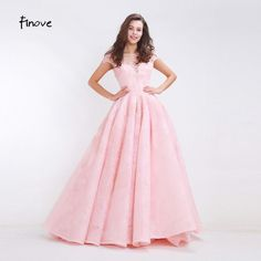Cheap prom dresses Buy Quality prom dresses directly from China prom dresses style Suppliers: Finove Floral Embroidery Prom Dresses 2017 New Styles Elegant A-Line Floor Length Long Dresses for Formal Women Dresses Wedding Dress Prices, Wedding Dresses, Prom Dresses 2018, Long Dresses, Meghan Markle Wedding Dress, Formal Dresses For Women, Buy Dress, Ball Gowns, Fashion Dresses