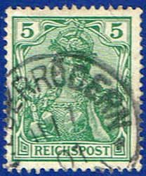 Germany 54 Stamp - Germania Stamp - EU GER 54-7 USED