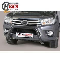 Frontschutzbügel schwarz, Hilux Revo Toyota Hilux, Offroad, Trucks, Vehicles, Car, Accessories, Stainless Steel, Off Road, Automobile
